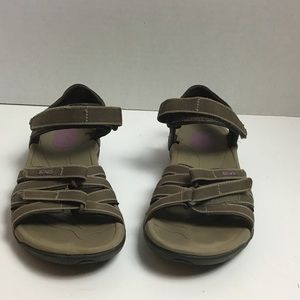 Teva brown Tirra 4266 sandals. 6